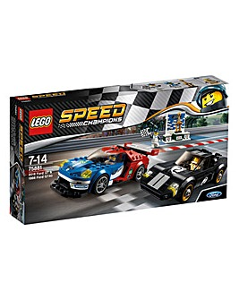 LEGO Speed Champions 2016 Ford GT & 1966