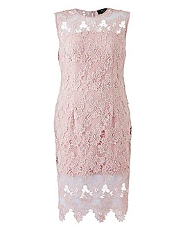 AX Paris Crochet Midi Dress