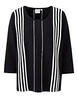 Junarose Striped Jumper
