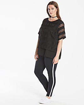 Junarose Layer Stripe Top