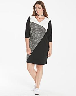 Junarose Colour Block Dress