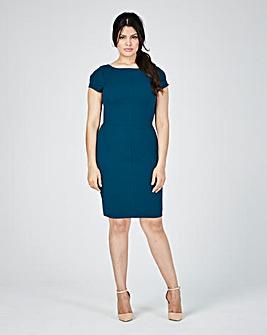 Closet Textured Fitted Dress