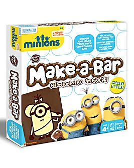 Minions Make-a-Bar Chocolate Twin Pack
