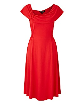 Scarlett & Jo Crepe Midi Dress