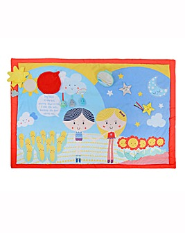 Say Hello Double-Sided Activity Mat