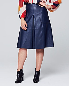 Traffic People A-Line Midi Skirt