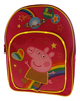 Peppa Pig Light Up LED Backpack