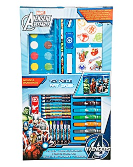 Marvel Avengers 52 Piece Art Case