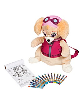 Paw Backpack and Colouring Accessories