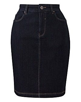 Everyday Denim Pencil Skirt