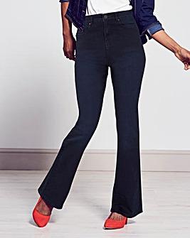 Kim High Waist Bootcut Jeans Regular
