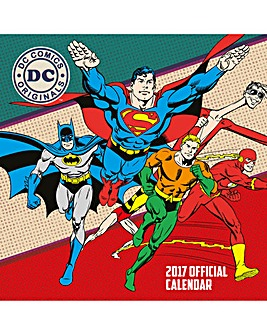 DC Comics Calendar