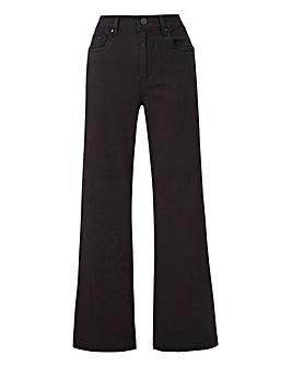 Pixie Wide Leg Jeans Short