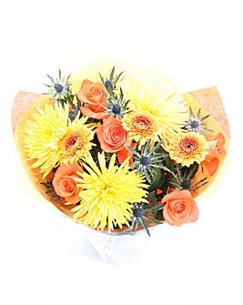 Autumn Eryngium Bouquet