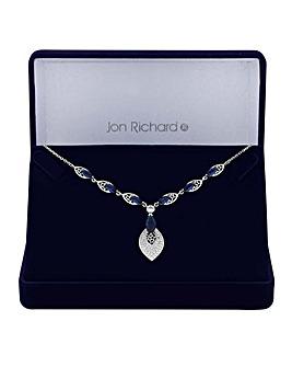 Jon Richard Cut Out Leaf Necklace