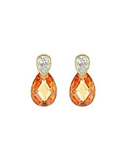 9Ct Gold Cubic Zirconia Earrings