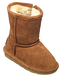 Chipmunks Tan Suede  Boot