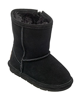 Chipmunks Black Suede  Boot