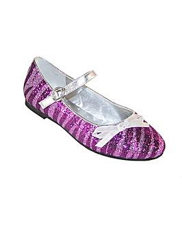 Sparkle Club Purple Glitter Shoes