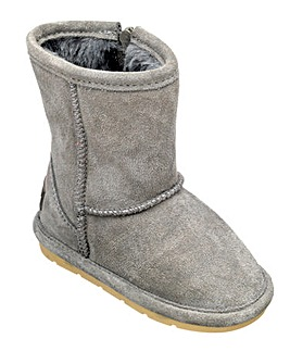 Chipmunks Grey Suede  Boot