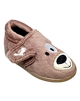 Chipmunks Spike the dog slipper