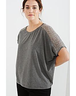 Elvi Knit Blend T-Shirt