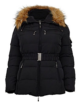 Koko Fur Collar Padded Jacket
