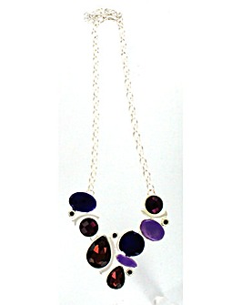 Lizzie Lee Colourful Enamel Necklace