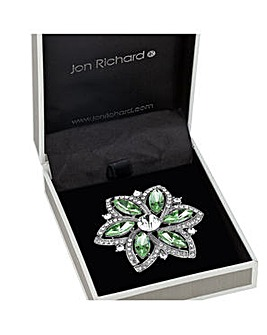 Jon Richard Floral Brooch
