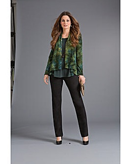 Top to Toe Devore Soft Jacket
