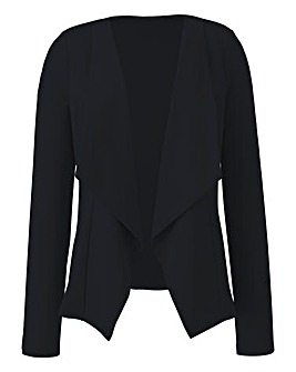 Plain Jersey Waterfall Jacket