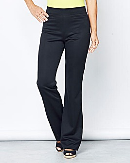 Pack 2 Bootcut Trousers Length Short