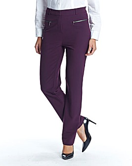 Petite Slim Leg Trouser Length 25in