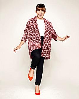 Lorraine Kelly Geo Coat