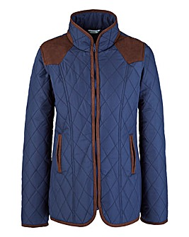 Diamond Quilted Jacket 26inch
