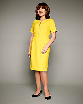 Lorraine Kelly Zip Dress