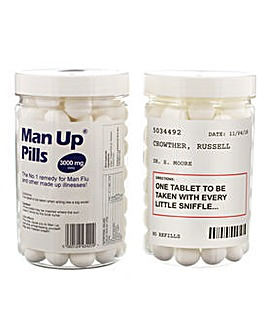 Personalised Man Up Pills