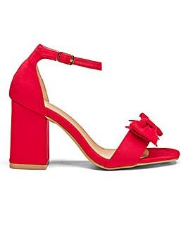 Heavenly Soles Bow Shoes E Fit