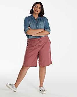 Linen Mix Shorts