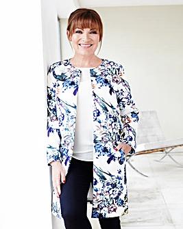 Lorraine Kelly Scuba Print Jacket