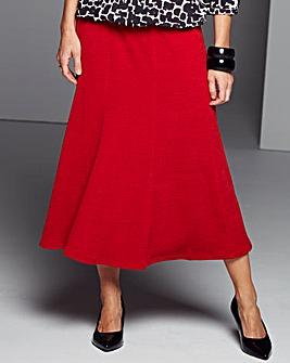 Warm handle Print Skirt
