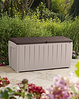 Keter Deluxe Storage Box with Seat