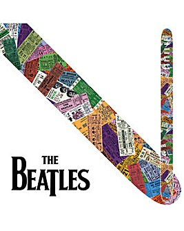The Beatles 2.5  Strap - Ticket To Ride