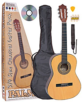 Palma 3/4 Size Guitar Outfit