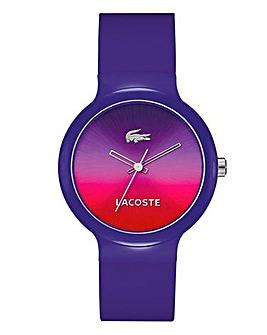 Lacoste Unisex Purple Watch