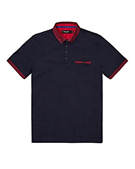 Black Label Shoreham Trim Polo Long