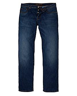 Hackett Vintage Wash Stretch Jean 32 Leg
