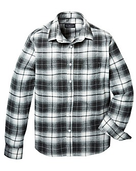Label J Shadow Check Shirt Regular