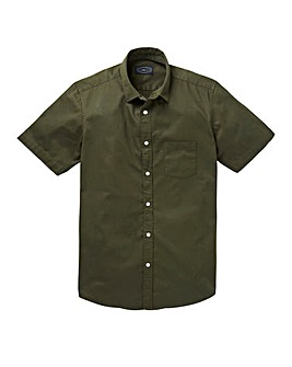 Label J Twill Shirt Regular
