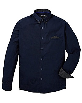 Black Label Pocket Square Shirt Regular